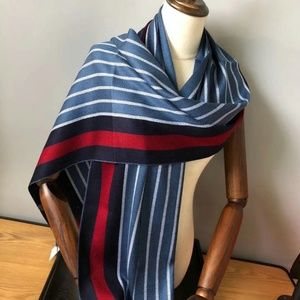 blue Color phase scarf